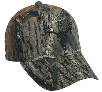 Outdoor Cap with Tribal Deer, Mossy Oak Break-Up