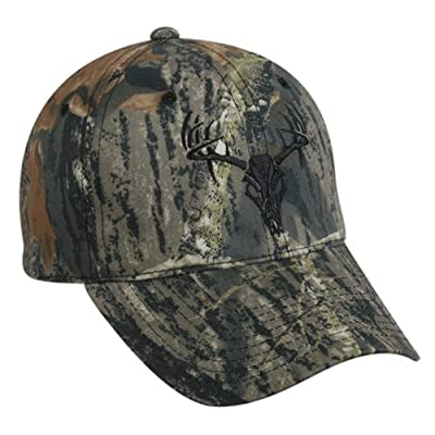 Outdoor Cap with Tribal Deer, Mossy Oak Break-Up