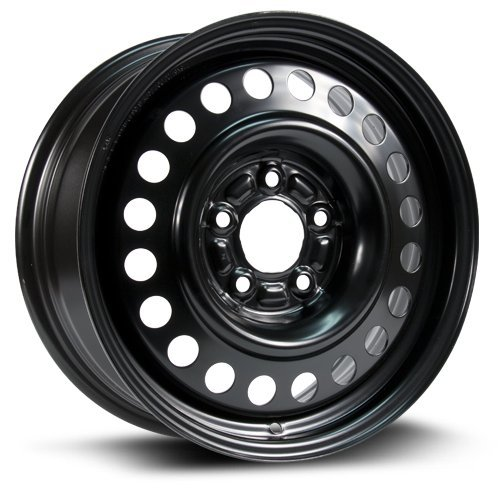 RTX, Steel Rim, New Aftermarket Wheel, 16X6.5, 5X115, 70.3, 45, black finish X40875 ()