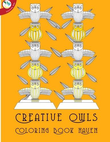 Download Creative Owls Coloring Book Haven (Ackerman Haven Coloring Books) pdf epub