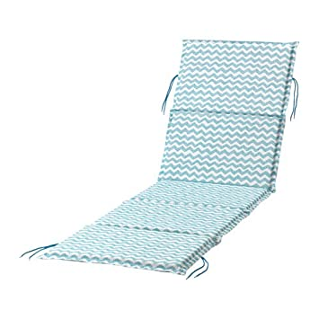 Empire Sterling Durable Exterior Tumbona cojín para Asiento ...