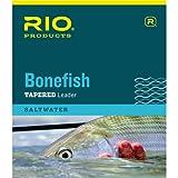Rio Bonefish Leaders 10 Foot, 3 Pack