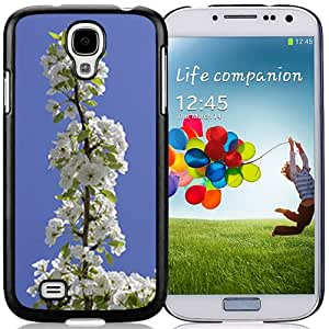 Fashionable Designed Cover Case For Samsung Galaxy S4 I9500 i337 M919 i545 r970 l720 With Pear Tree Branch Flower Mobile Wallpaper Phone Case