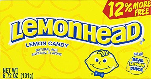 Lemonhead Lemon Candy Theatre Boxes 6.72 Oz (2 Boxes) by LEMONHEADS
