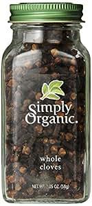 Simply Organic Whole Cloves, 2.05 Ounce