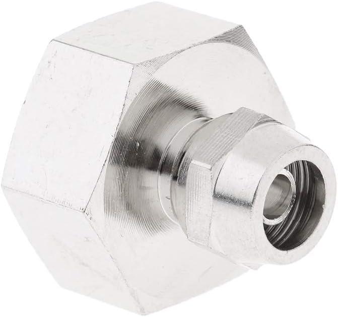 Adaptador De Conector De Ajuste De Presi/ón De Lat/ón ROS Tuber/ía De Agua 3 4 Hembra X 3 8 Pulgadas