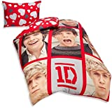 one direction bed set for boys - One Direction Reversible Duvet Cover Set Single
