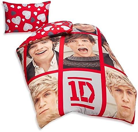 One Direction Reversible Duvet Cover Set