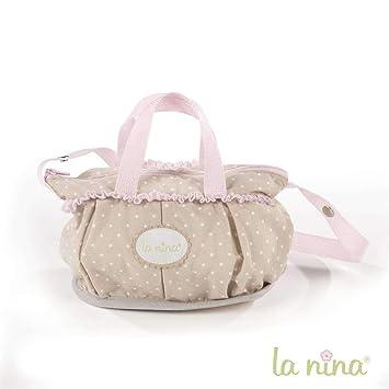 Amazon.es: La Nina Bolsa pequeña Inés para Carrito de muñecas, 16 x 21 x 10 cm (61618): Juguetes y juegos