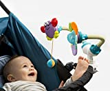 2017 BABY INNOVATION AWARD WINNER. 11 in 1 BEST multifunctional & developmental TOYS SET. Attachable Anywhere & Anytime on Stroller, High Chair, Crib, Car Seat, Coffee Shop Table etc.