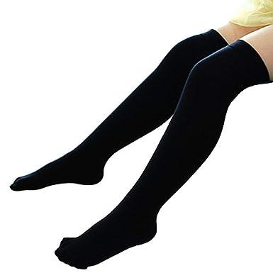 41bc95a19fc3e Bluelans Toddler Socks Infant Baby Kids Girls Over the Knee Socks Thigh  High Socks Knee High Socks Tights Stocking School Socks for 1-5 Years Baby  Girls: ...