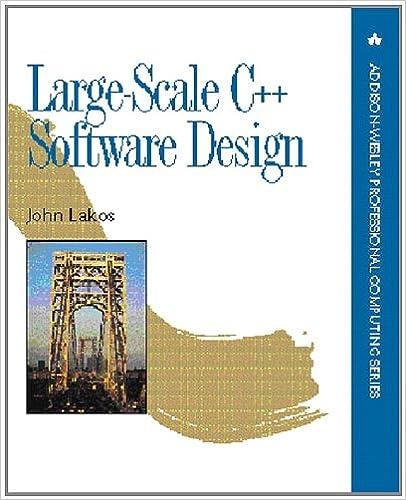 Amazon Com Large Scale C Software Design 8601300152905 Lakos John Books