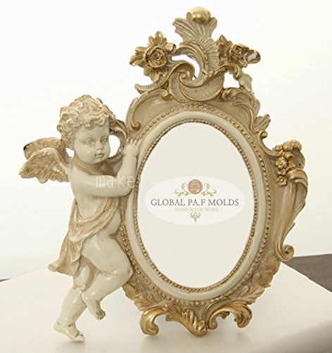 cherub Frame Mold 86753 Sugarcraft Molds Polymer Clay Cake Border Mold Soap Molds Resin Candy Chocolate Cake Decorating Tools