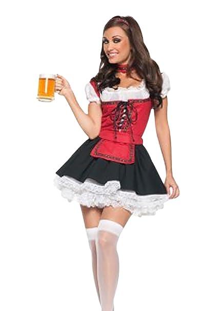 HarrowandSmith de las mujeres Dirndl alemán Oktoberfest ...