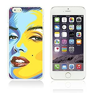 OBiDi - Celebrity Star Hard Back Case for Apple iPhone 6 Plus (5.5 inch) Smartphone - Marilyn Monroe