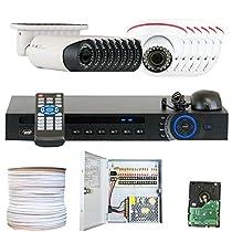 GW Security Inc VD16CHC7 16 Channel HDCVI DVR Camera System