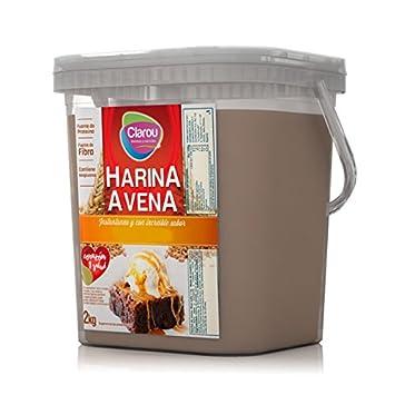 Clarou Nutrición harina de avena, Unisex, Oat, chocolate, talla única: Amazon.es: Deportes y aire libre