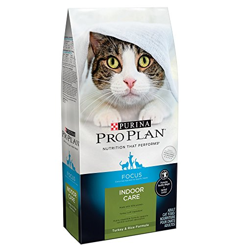 Purina Pro Plan Focus Indoor Care Turkey Rice Dry Adult 11+ Cat Food (7 Lb)