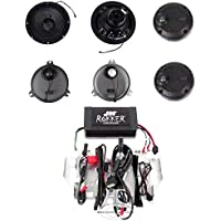 J&M Audio Rokker XXRK Stage 4 Extreme 4 Speaker and 630 Watt Amp Kit for 2014 and Newer Harley-Davidson Ultra Classic, Limited models - XXRK Stage 4-630SP4-14UL