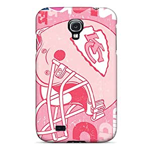 ZWPCzST-4990 Case Cover Protector For Galaxy S4 Kansas City Chiefs Case