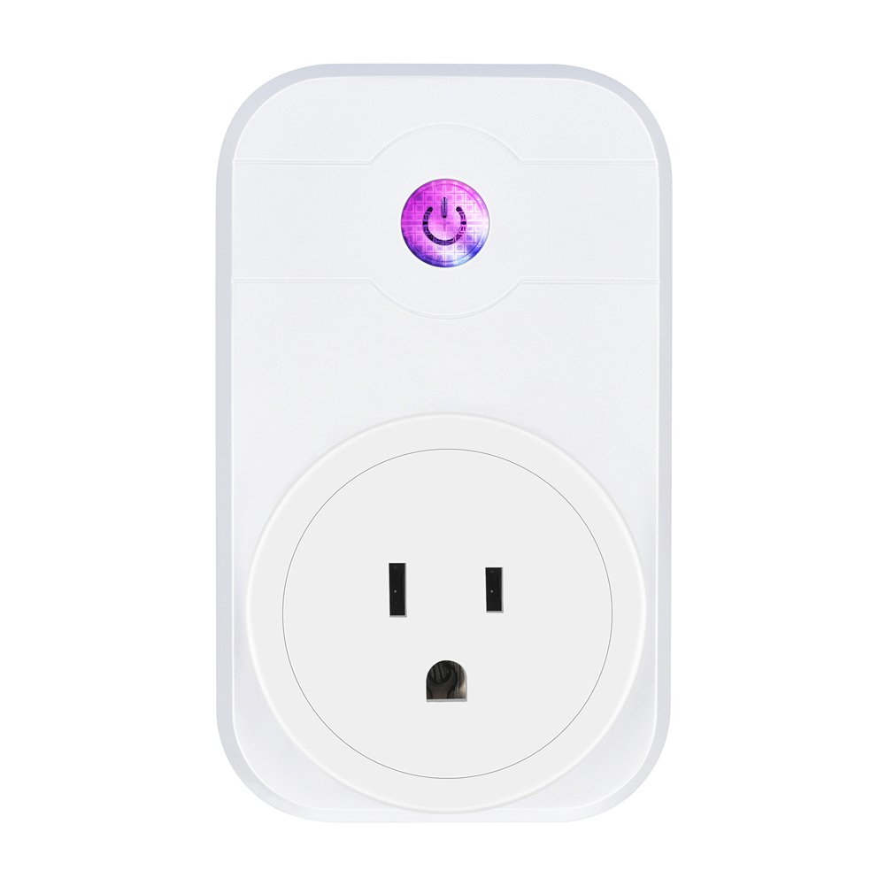 Smart Home Plug wifi Switch Compatible with Amazon Alexa and Google Home Device Timing Function IFTTT Remote Control Appliance via Smartphone
