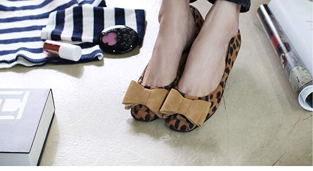 JIAW Bow Flat Temperament Single Shoes Female