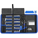 XOOL 140pcs Electronics Repair Tool Kit Professional, Precision Screwdriver Set Magnetic for Repair Cell Phone, iPhone, iPad, MacBook, PC, Tablet, Laptop, Xbox, Game Console