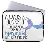 Eratio Be a Mermaid Laptop Sleeve 15 Inch MacBook Air Case MacBook Pro Sleeve and 15 Inch Laptop Bag