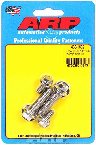 (ARP 4301602 Stainless 300 Hex Fuel Pump Bolt Kit )