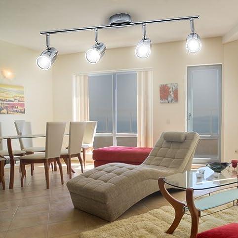 Lu MiR LED Deckenleuchte Deckenlampe Leuchte Designleuchte Wohnzimmer Kuche Strahler Linea Cup