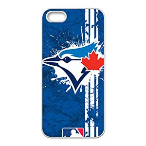 JIANADA Toronto Blue Jays New Style High Quality Comstom Protective Case Coverr For iPhone 5S