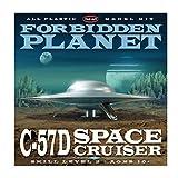 Round 2 Forbidden Planet: C57D Flying Saucer 1:144 Model Kit