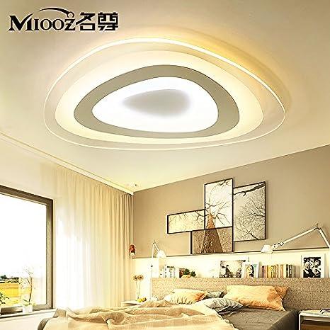 lemumu Luz LED lámpara de techo thin thin dormitorio salón ...