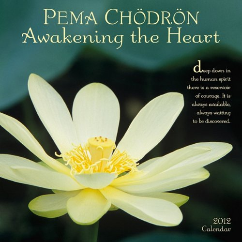 Pema Chodron Awakening Heart Calendar product image
