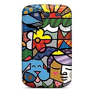 Samsung Galaxy S3 Efw17901bPnS Provide Private Custom Colorful Grateful Dead Skin Perfect Hard Phone Case -IanJoeyPatricia