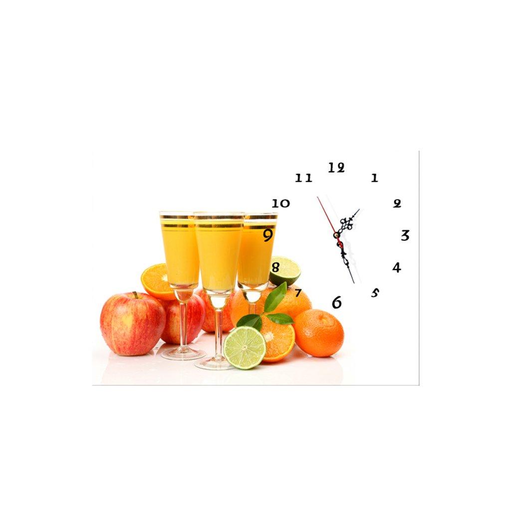 3Dアートサイレント防水絵画壁時計装飾的な背景クリエイティブアートマイクロフレームクリスタルクロックトリプルハンギング絵画の水平バージョン居間 (サイズ さいず : 70*50cm) B07D9JFDPV70*50cm