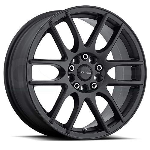 Raceline 141B Mystique 17x7.5 5x108/5x114.3 +40mm Satin Black Wheel Rim