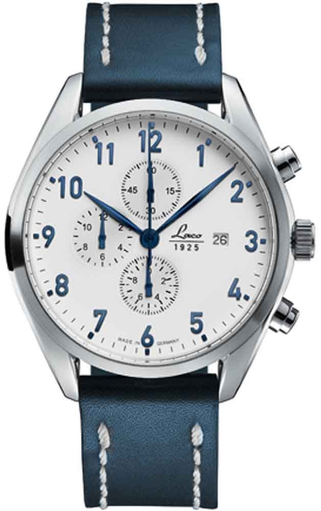 Laco Sylt German Pilot Chronograph 861789 by Laco/1925