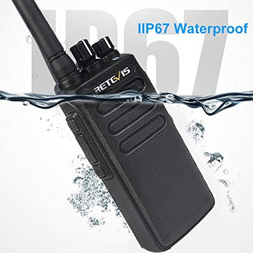 Retevis RT81 2 Way Radios Long Range Waterproof UHF 32CH Group Call VOX DMR Radio 2200mAh Digital Heavy Duty Walkie Talkies 2 Pack