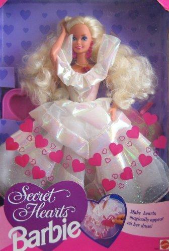 Secret Hearts Barbie Doll 1992 by Mattel: Amazon.it: Giochi e