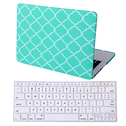 MacBook Quatrefoil Moroccan Designer Keyboard