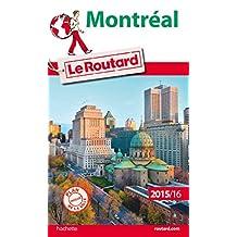 MONTRÉAL 2015-2016 + PLAN DE VILLE