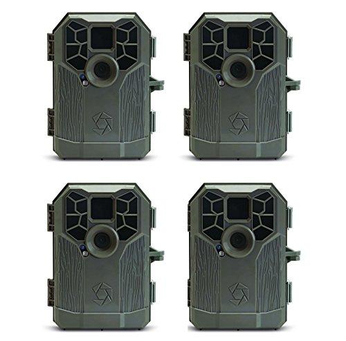 Stealth Cam P12S IR Trail Hunting Game Camera, 4-Pack (Renewed)