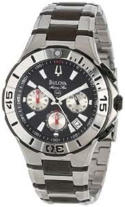 Bulova Men's 98B013 Marine Star Diver's Chronograph Watch