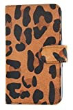 MOBILELUXE Hair Calf Wallet Phone Case for Samsung Galaxy S5 - Leopard Print/Black