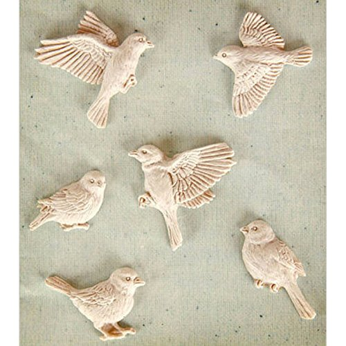 bird set MOLD , fondant cake molds chocolate soap candle moulds