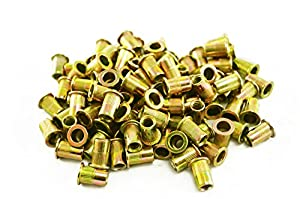 "Astro Pneumatic Tool RN14 1/4""-20 Steel Rivet Nuts (100 Piece)"