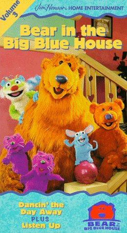 Bear in the Big Blue House, Vol. 3 - Dancin' the Day Away / Listen Up [VHS] by Sony Pictures