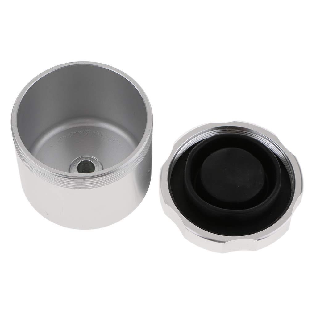 KESOTO Serbatoio Olio Freno a Mano Idraulico Alluminio Attrezzo SPortivo Nero
