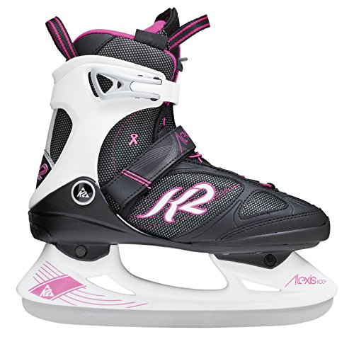 K2 Schlittschuhe Alexis Ice Pro Damen Schlittschuhe, Schwarz-Pink, 37 EU (7 US), I150300901